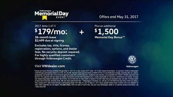 Volkswagen Memorial Day Event TV Spot, 'Open House: 2017 Jetta S' [T2] - Thumbnail 9