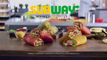 Subway Signature Wraps TV Spot, 'Try All Four' - Thumbnail 7