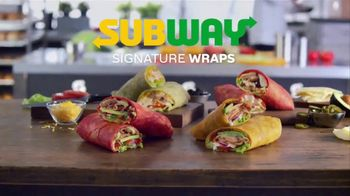 Subway Signature Wraps TV Spot, 'Try All Four' - Thumbnail 2