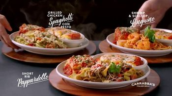 Carrabba's Grill Trios TV Spot, 'Three Pastas on One Plate' - Thumbnail 3
