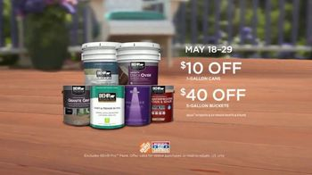 BEHR Paint Memorial Day Savings TV Spot, 'Deck: Paints and Stains' - Thumbnail 10