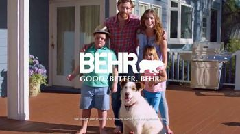 BEHR Paint Memorial Day Savings TV Spot, 'Deck: Paints and Stains' - Thumbnail 9