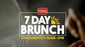 Golden Corral 7 Day Brunch TV Spot, '150 selecciones' [Spanish]