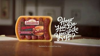 Johnsonville Firecracker Bratwurst TV Spot, 'Stuart: How Hot?'