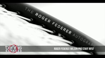 Tennis Express TV Spot, 'Wilson Pro Staff RF97 Autograph' Ft. Roger Federer - Thumbnail 1