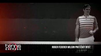 Tennis Express TV Spot, 'Wilson Pro Staff RF97 Autograph' Ft. Roger Federer - Thumbnail 2