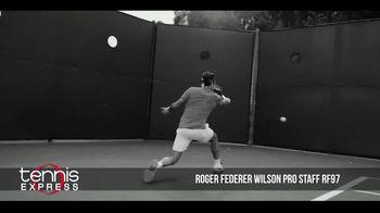 Tennis Express TV Spot, 'Wilson Pro Staff RF97 Autograph' Ft. Roger Federer - Thumbnail 3