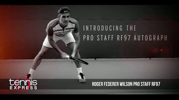 Tennis Express TV Spot, 'Wilson Pro Staff RF97 Autograph' Ft. Roger Federer - 69 commercial airings