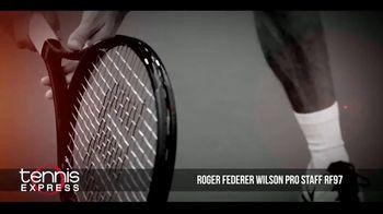 Tennis Express TV Spot, 'Wilson Pro Staff RF97 Autograph' Ft. Roger Federer - Thumbnail 5