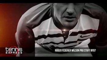 Tennis Express TV Spot, 'Wilson Pro Staff RF97 Autograph' Ft. Roger Federer - Thumbnail 6