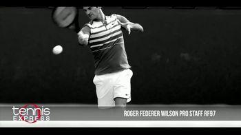 Tennis Express TV Spot, 'Wilson Pro Staff RF97 Autograph' Ft. Roger Federer - Thumbnail 7