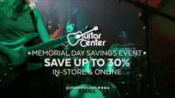 Guitar Center Memorial Day Savings Event TV Spot, 'Guitar and Strings' - Thumbnail 8