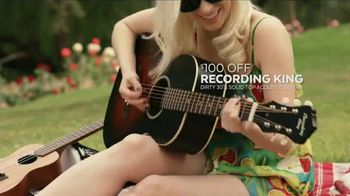 Guitar Center Memorial Day Savings Event TV Spot, 'Guitar and Strings' - Thumbnail 4