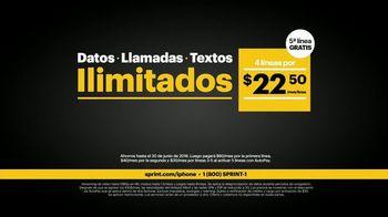 Sprint Unlimited TV Spot, 'Un iPhone 7 por cuenta nuestra' [Spanish] - Thumbnail 1