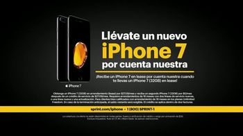 Sprint Unlimited TV Spot, 'Un iPhone 7 por cuenta nuestra' [Spanish] - Thumbnail 2