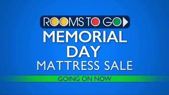Rooms to Go Memorial Day Mattress Sale TV Spot, 'Sleep Better' - Thumbnail 2