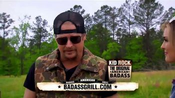 American Badass Grill TV Spot, 'Work Hard and Play Harder' Feat. Kid Rock - Thumbnail 1