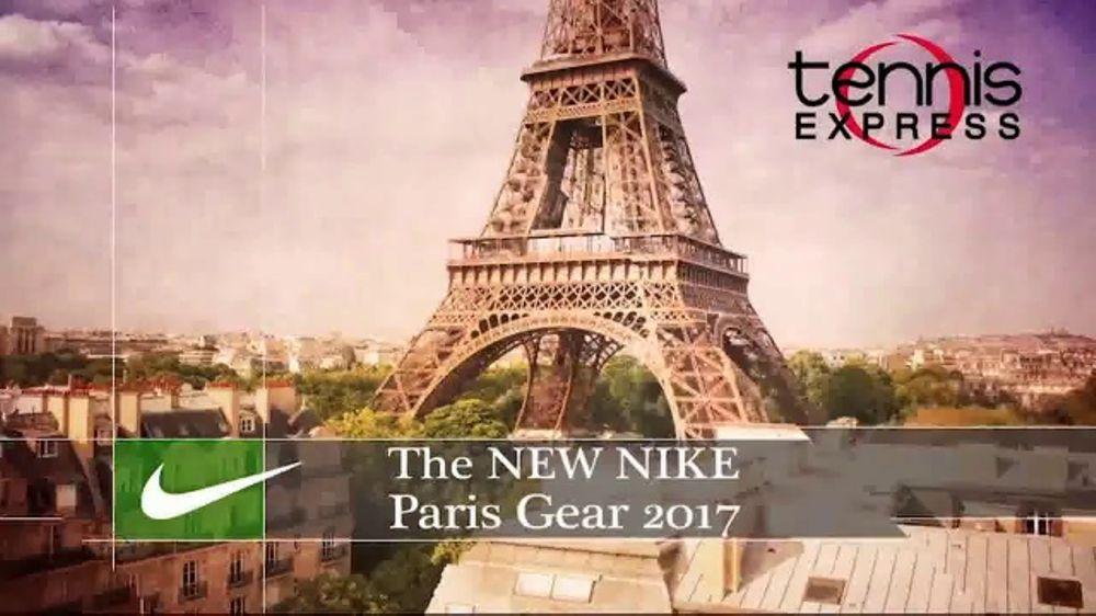 Tennis Express TV Commercial, 'Nike Paris Gear Summer 2017'