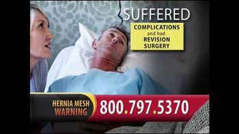 Gold Shield Group TV Spot, 'Hernia Surgery Complications' - Thumbnail 9