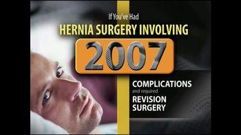 Gold Shield Group TV Spot, 'Hernia Surgery Complications' - Thumbnail 1
