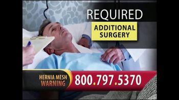 Gold Shield Group TV Spot, 'Hernia Surgery Complications' - Thumbnail 6