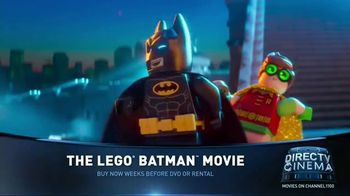 DIRECTV Cinema TV Spot, 'The Lego Batman Movie'