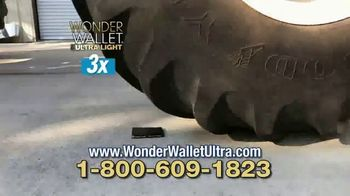 Wonder Wallet Ultra Light Wallet TV Spot, 'Slim and Strong'