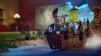 Pirates of the Caribbean Silent Mary Ghost Ship TV Spot, 'Adventure' - 555 commercial airings
