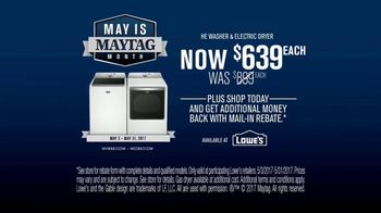 Lowe's Maytag Month TV Spot, 'Eye Candy' - Thumbnail 10