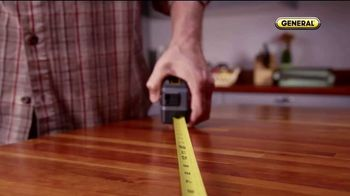 General Tools 2-in-1 Laser Tape Measure TV Spot, 'Single Handedly' - Thumbnail 1