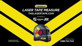 General Tools 2-in-1 Laser Tape Measure TV Spot, 'Single Handedly' - Thumbnail 10