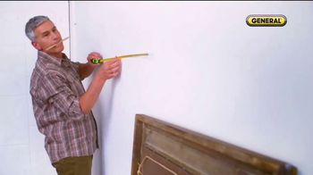 General Tools 2-in-1 Laser Tape Measure TV Spot, 'Single Handedly' - Thumbnail 3