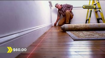 General Tools 2-in-1 Laser Tape Measure TV Spot, 'Single Handedly' - Thumbnail 8