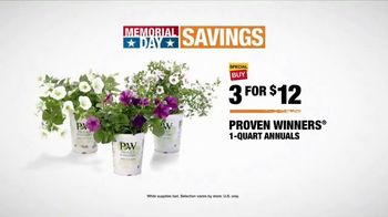 The Home Depot Memorial Day Savings TV Spot, 'More Colorful Gardening' - Thumbnail 6