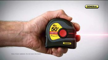 General Tools 2-in-1 Laser Tape Measure TV Spot, 'Over a Century' - Thumbnail 2
