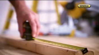 General Tools 2-in-1 Laser Tape Measure TV Spot, 'Over a Century' - Thumbnail 4