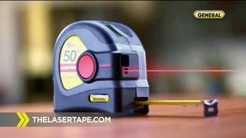 General Tools 2-in-1 Laser Tape Measure TV Spot, 'Over a Century' - Thumbnail 5