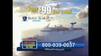 Royal Seas Cruises Deal of the Day TV Spot, 'Cruise for Two to Paradise'
