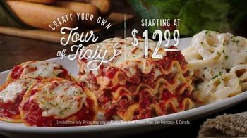 Olive Garden Create Your Own Tour of Italy TV Spot, 'Everything You Love'
