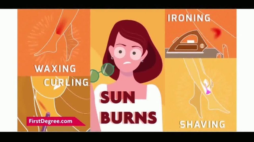 first degree maximum strength burn cream tv commercial   u0026 39 burns happen u0026 39