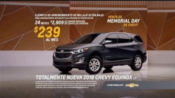 Venta de Memorial Day de Chevy TV Spot, '2018 Equinox' [Spanish] [T2] - Thumbnail 6