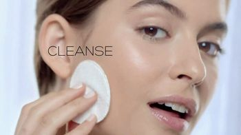 Garnier SkinActive Cleansing Water TV Spot, 'Works Morning and Night' - 1555 commercial airings