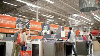 The Home Depot Memorial Day Savings TV Spot, 'Samsung Stainless Suite' - Thumbnail 1