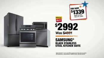 The Home Depot Memorial Day Savings TV Spot, 'Samsung Stainless Suite' - Thumbnail 9