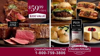 Omaha Steaks Father's Day Gift TV Spot, 'A Gift He Can Appreciate' - Thumbnail 9