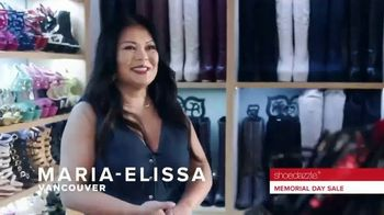 Shoedazzle.com Memorial Day Sale TV Spot, 'Maria-Elissa' - Thumbnail 4