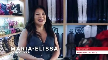 Shoedazzle.com Memorial Day Sale TV Spot, 'Maria-Elissa'