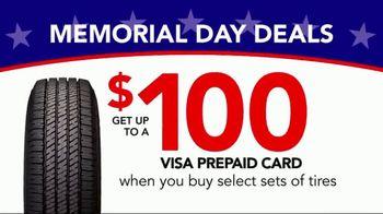 Discount Tire Memorial Day Deals TV Spot, 'VISA Prepaid Card' - Thumbnail 6