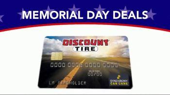 Discount Tire Memorial Day Deals TV Spot, 'VISA Prepaid Card' - Thumbnail 7