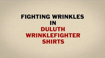 Duluth Trading Company Wrinklefighter Shirts TV Spot, 'Clothes Dryer' - Thumbnail 3